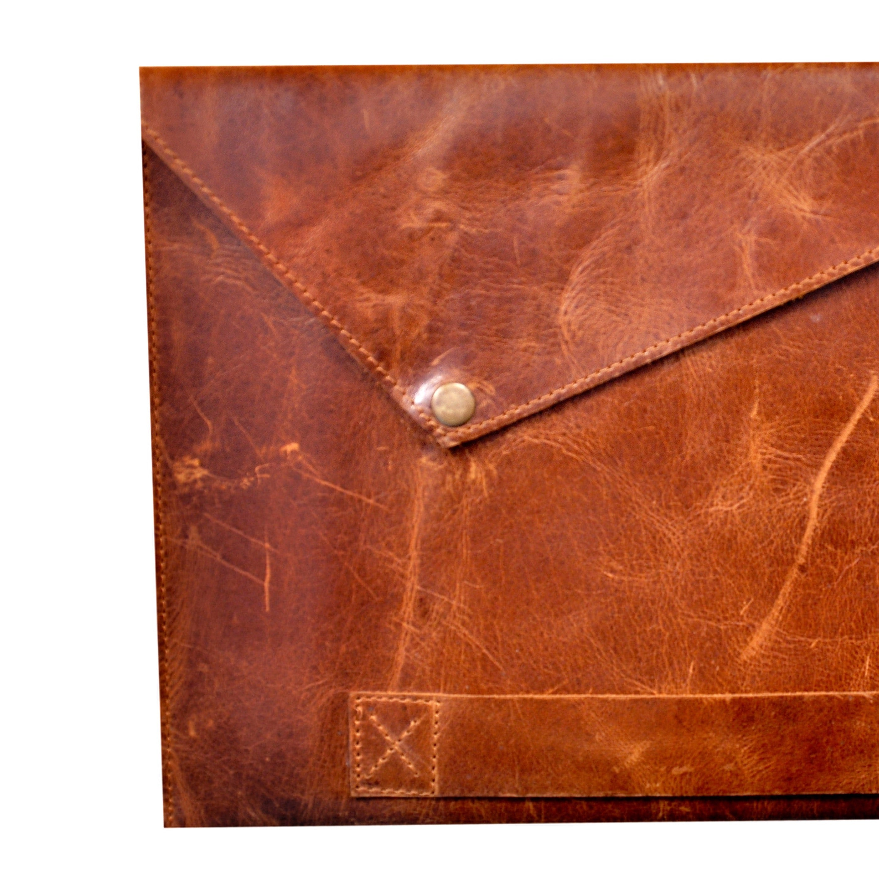 Leather Sleeve for iPad Air/Mini/Pro {Tan Brown}