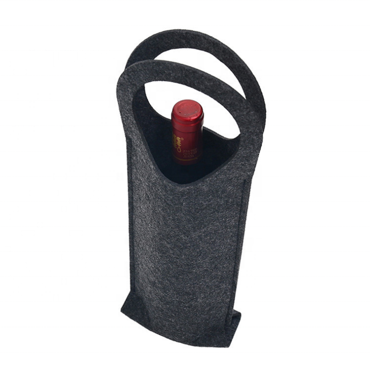 Wool Felt Wine Bottle Holder