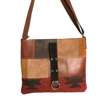 Dhurri Leather Messenger