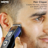 11-in-1 Rechargeable Multi Grooming Kit Trimmer Geepas