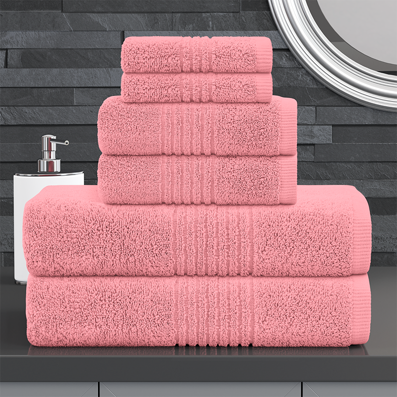 Plush Zero Twist 6 Piece Towel Bale