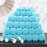 Oxford Combed Cotton Towels