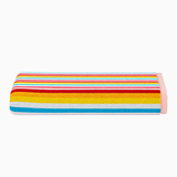 Multi Coloured Striped Beach Towel