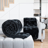 Luxury Faux Fur Mink Throw Soft & Warm