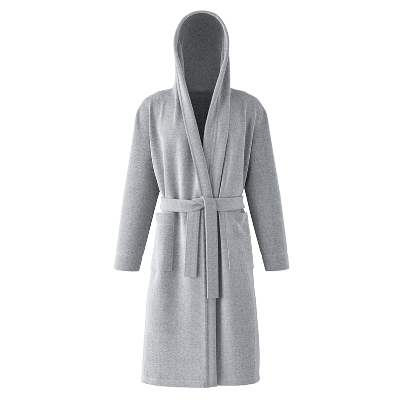 Classic Cotton Hood Bathrobe