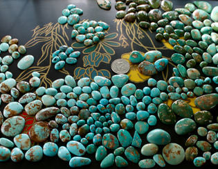 Natural turquoise & gemstones from the Nevada Cassidys
