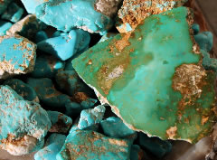 Turquoise from Stone Mountain Mine
