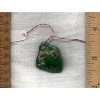 A Stone Mountain Turquoise focal bead from the Nevada Cassidys