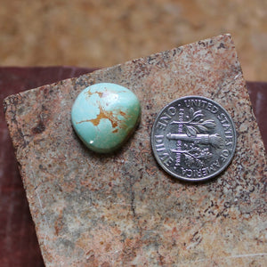 6.5 carat color change Stone Mountain Turquoise cabochon