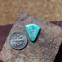 6.7 carat blue Stone Mountain Turquoise cabochon with angles