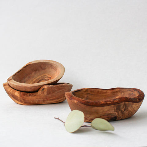 Rustic Olivewood Bowl