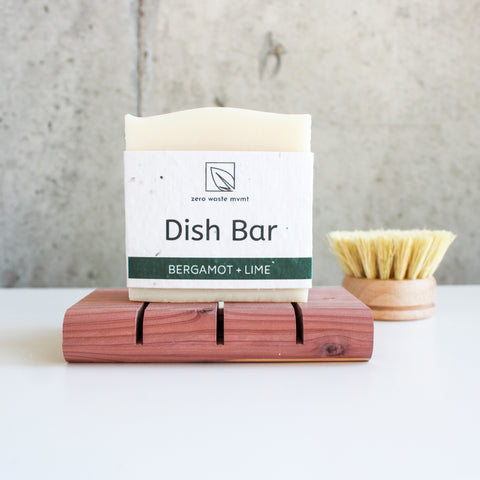 Dish Soap Bar | Bergamot + Lime