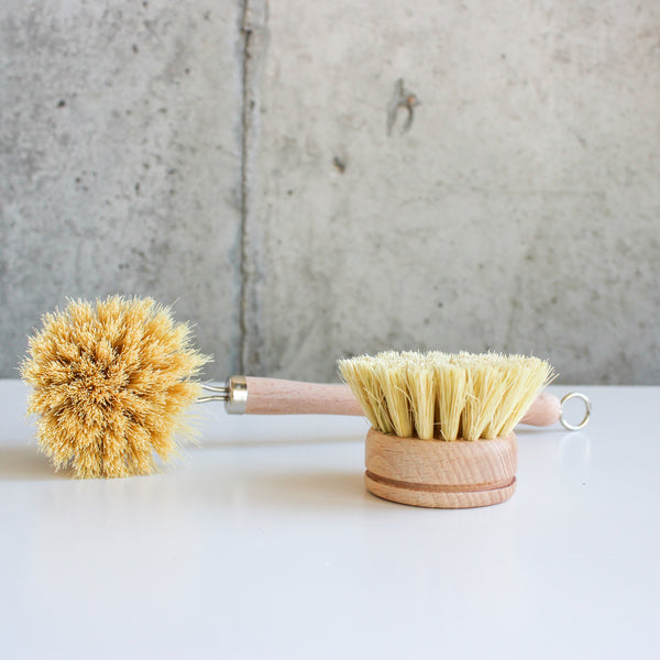 Wooden Dish Brush + Replaceable Head