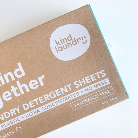 Zero Waste Laundry Detergent Sheets