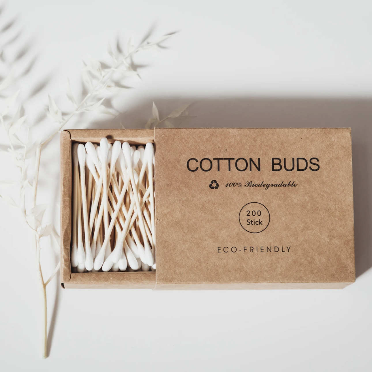Bamboo Cotton Buds | Set of 200