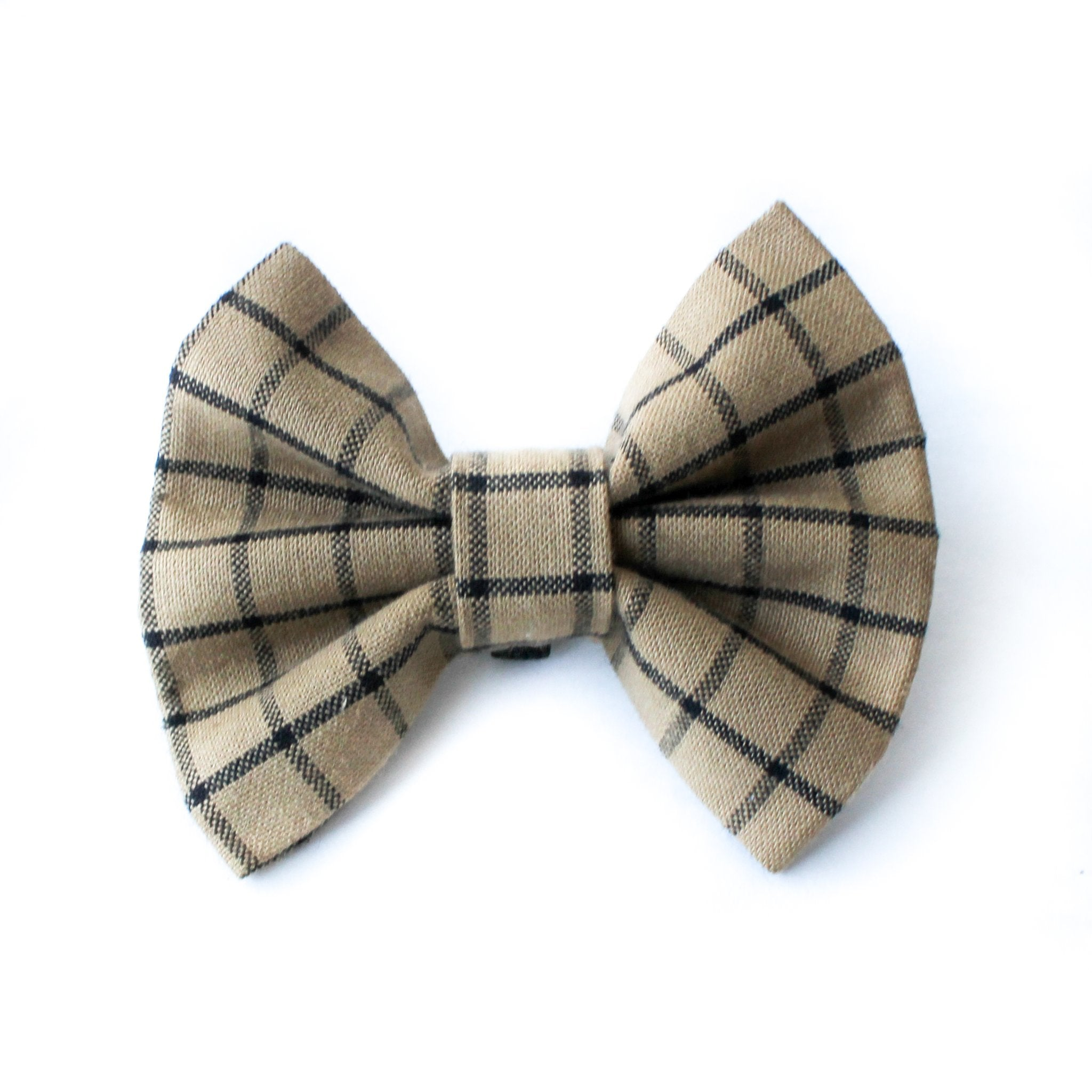 Bow Tie | Brown Plaid
