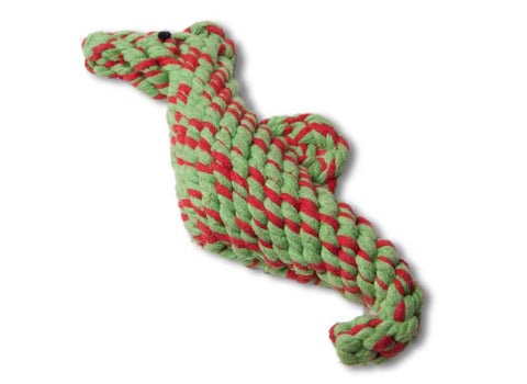 Cotton Pals Dog Toy | Cindy the Seahorse
