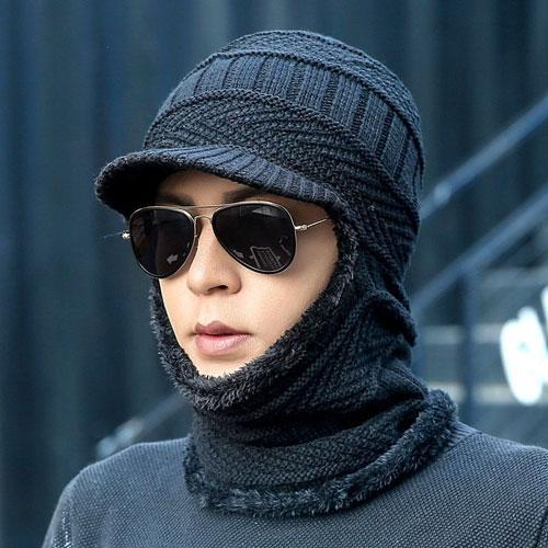 3-in-1 Cap | Cap + Mask + Scarf - WOOHAT