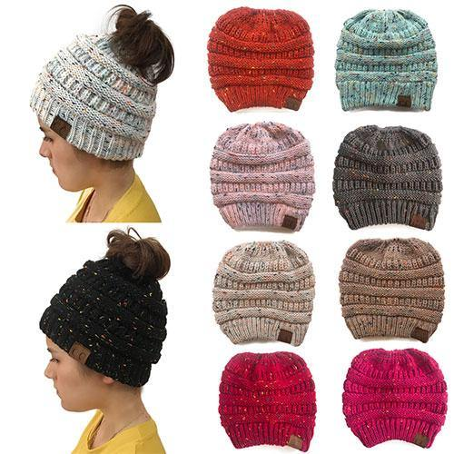 Ponytail Beanie - WOOHAT