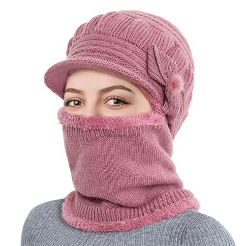 3-in-1 Winter Cap | Cap + Mask + Scarf - WOOHAT