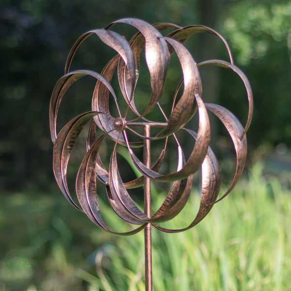 Pemberley - Brushed Copper Wind Sculpture
