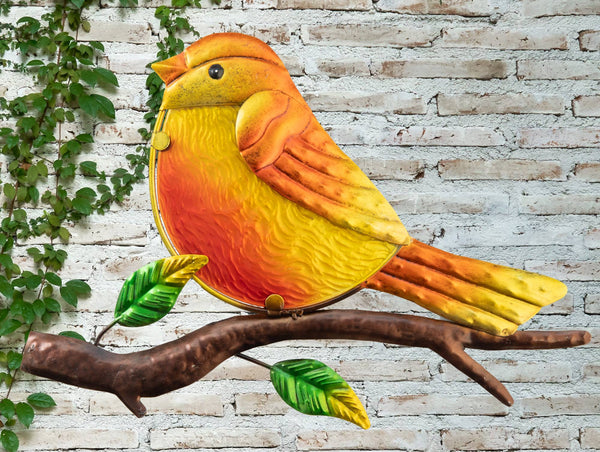 Robin Glass Wall Art