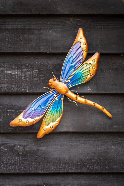 Dragonfly Glass Wall Art - Pre-order for 01/02/2021