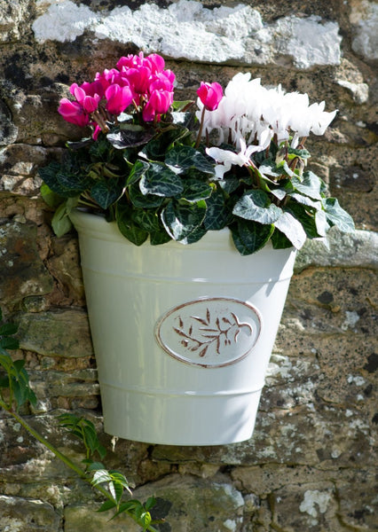 Blenheim Wall Planter - Off White