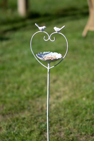 Heart Bird Feeder Stake - Pre-order for 01/02/2021