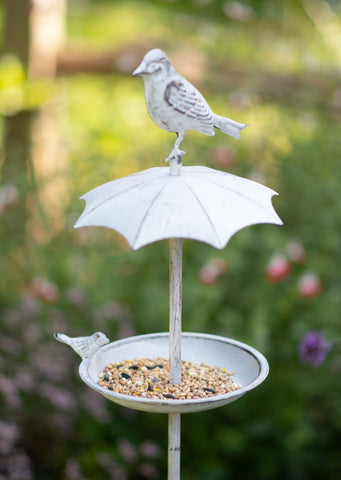 Umbrella Bird Feeder Stake
