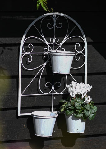Arched Wall Planter (Pots Included) - Pre-order for 01/02/2021