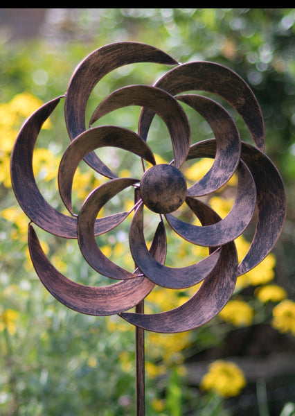 Cotswold - Brushed Copper Wind Spinner