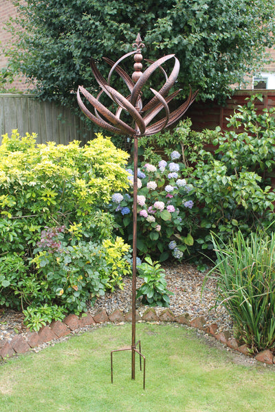 Windsor - Brushed Copper Wind Sculpture