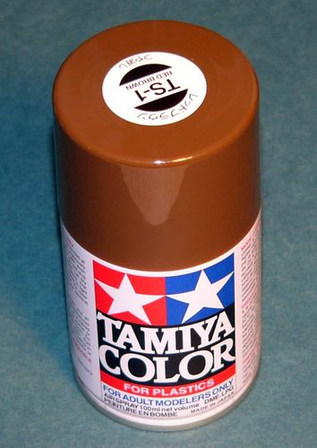 TAMIYA COLOUR SPRAY RED/BROWN 100ml