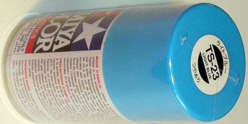 TAMIYA COLOUR SPRAY LIGHT BLUE 100ml