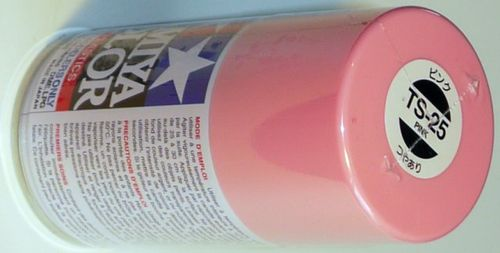 TAMIYA COLOUR SPRAY PINK 100ml