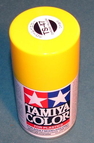 TAMIYA COLOUR SPRAY CHROME YELLOW 100ml