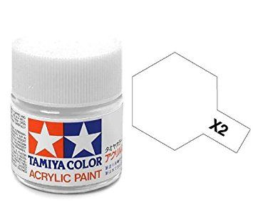 TAMIYA ACRYLIC GLOSS WHITE 10ml
