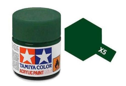 TAMIYA ACRYLIC GLOSS GREEN 10ml