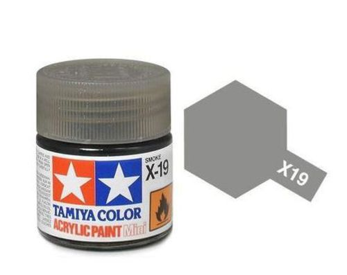 TAMIYA ACRYLIC GLOSS SMOKE 10ml