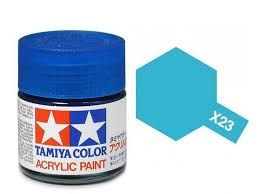 TAMIYA ACRYLIC GLOSS CLEAR BLUE 10ml