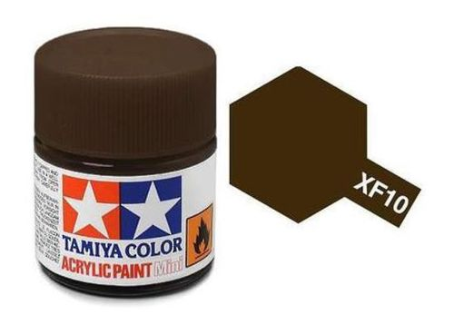 TAMIYA ACRYLIC FLAT BROWN 10ml