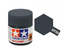 TAMIYA ACRYLIC FLAT FIELD BLUE 10ml