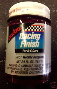 PACTRA RACING FINISH METALLIC BURGUNDY 20ml