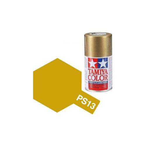 TAMIYA COLOUR SPRAY PAINT GOLD 100ml