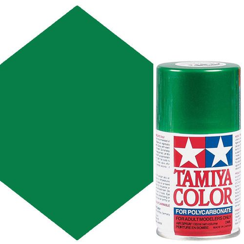 TAMIYA COLOUR SPRAY PAINT METALLIC GREEN 100ml