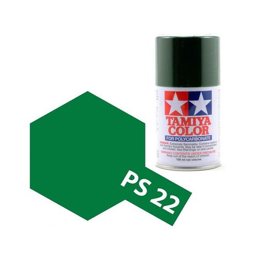 TAMIYA COLOUR SPRAY PAINT RACING GREEN 100ml