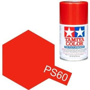 TAMIYA COLOUR SPRAY PAINT BRIGHT MICA RED 100ml