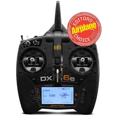SPEKTRUM DX6e 6ch. MODE SWITCHABLE TRANSMITTER