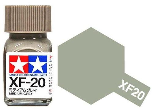 TAMIYA ENAMEL  MEDIUM GREY